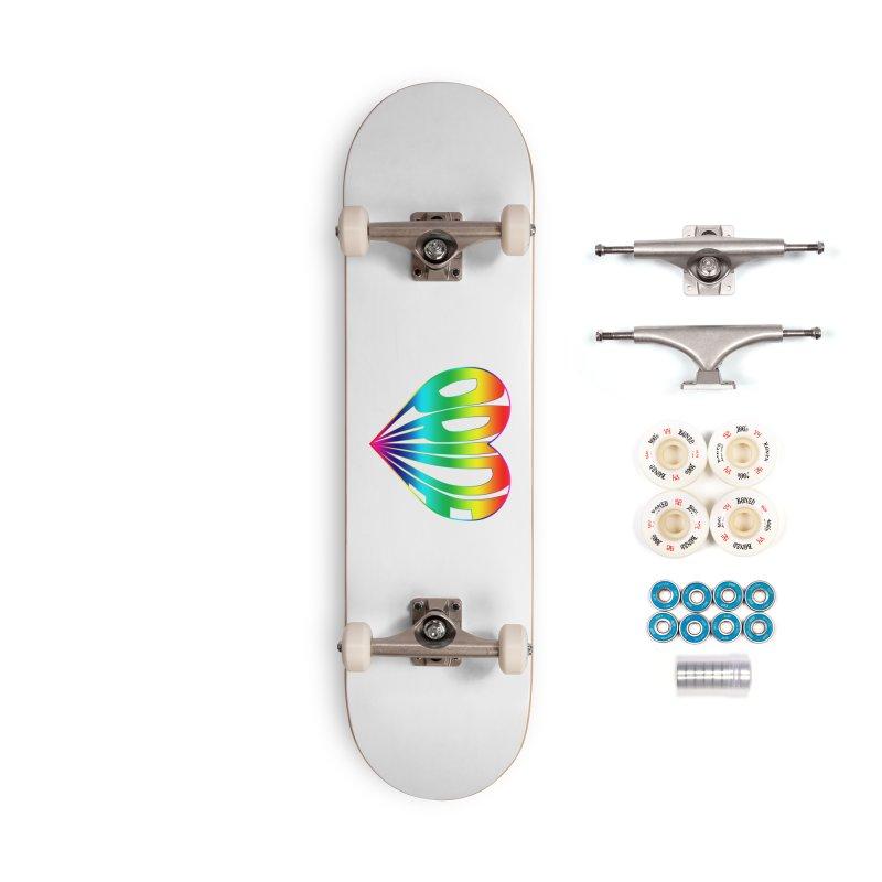 Pride - Rainbow Accessories Complete - Premium Skateboard by The Wandering Fools
