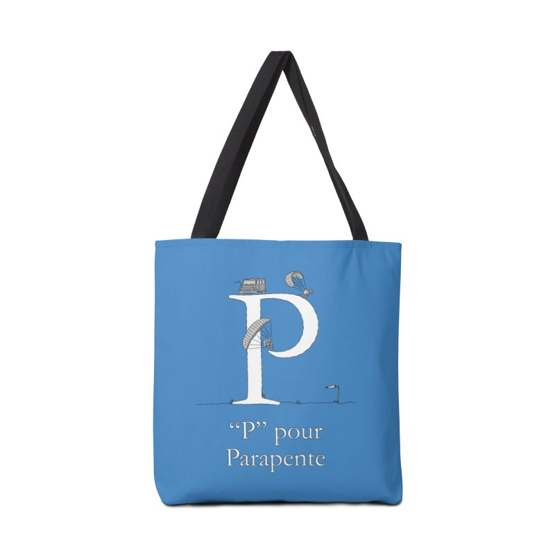 """P"" pour Parapente Accessories Tote Bag Bag by The Wandering Fools"