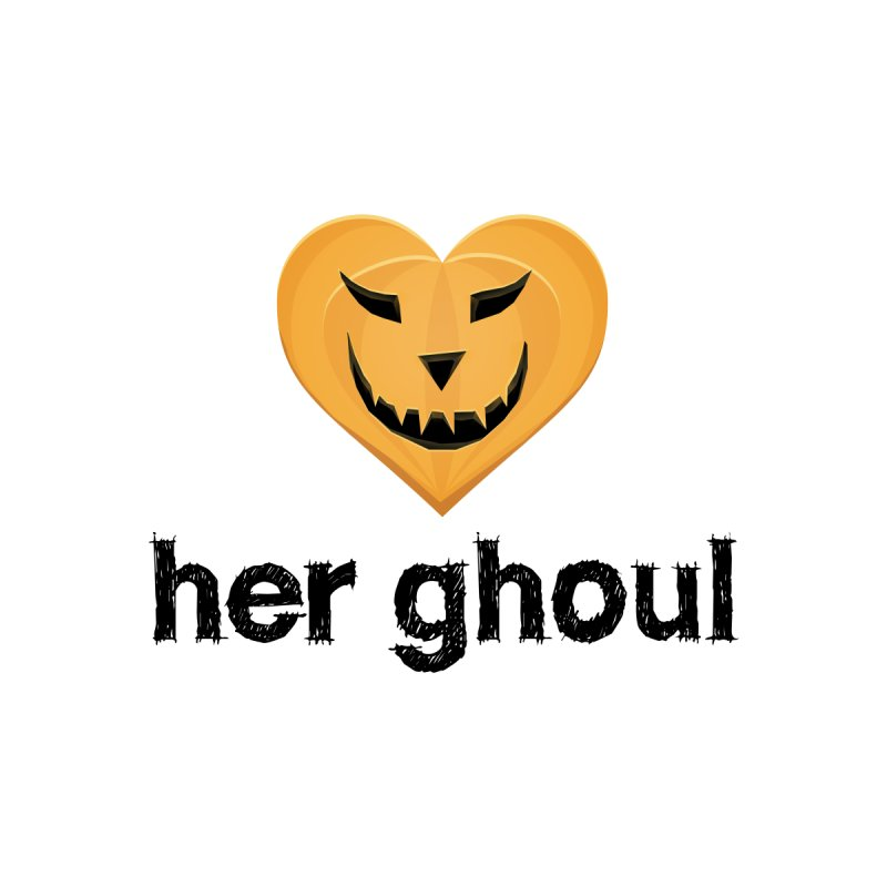 Her Ghoul - Matching Couples - Halloween Accessories Mug by The Wandering Fools Artist Shop