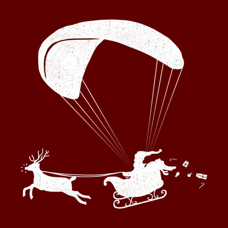 Happy Holidays - Paragliding Santa- Textless by The Wandering Fools