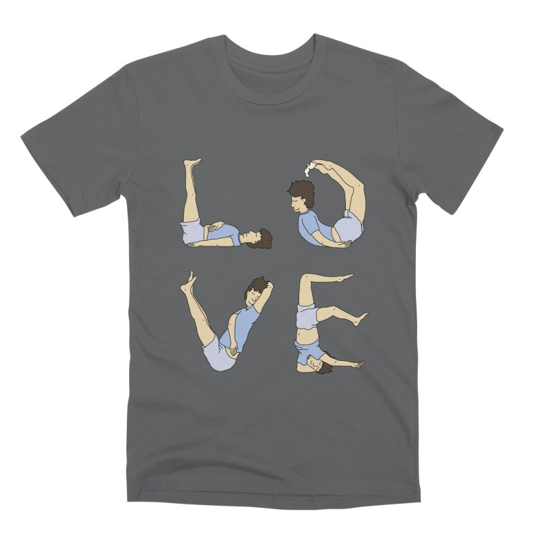 Love Lazing Around - Guy Men's T-Shirt by The Wandering Fools Artist Shop