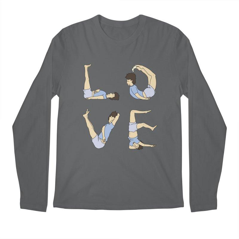 Love Lazing Around - Guy Men's Longsleeve T-Shirt by The Wandering Fools Artist Shop