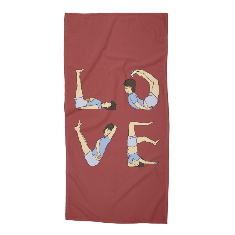 Love Lazing Around - Guy Accessories Beach Towel by The Wandering Fools