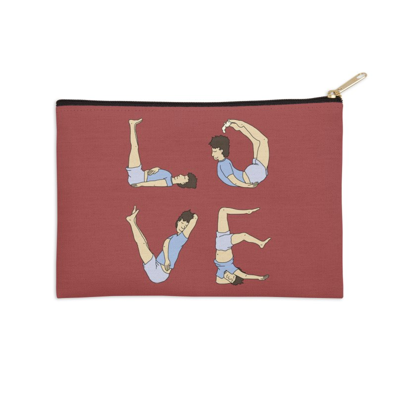 Love Lazing Around - Guy Accessories Zip Pouch by The Wandering Fools Artist Shop