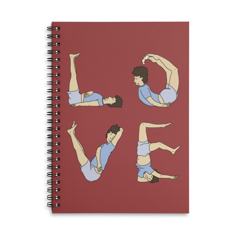 Love Lazing Around - Guy Accessories Notebook by The Wandering Fools Artist Shop