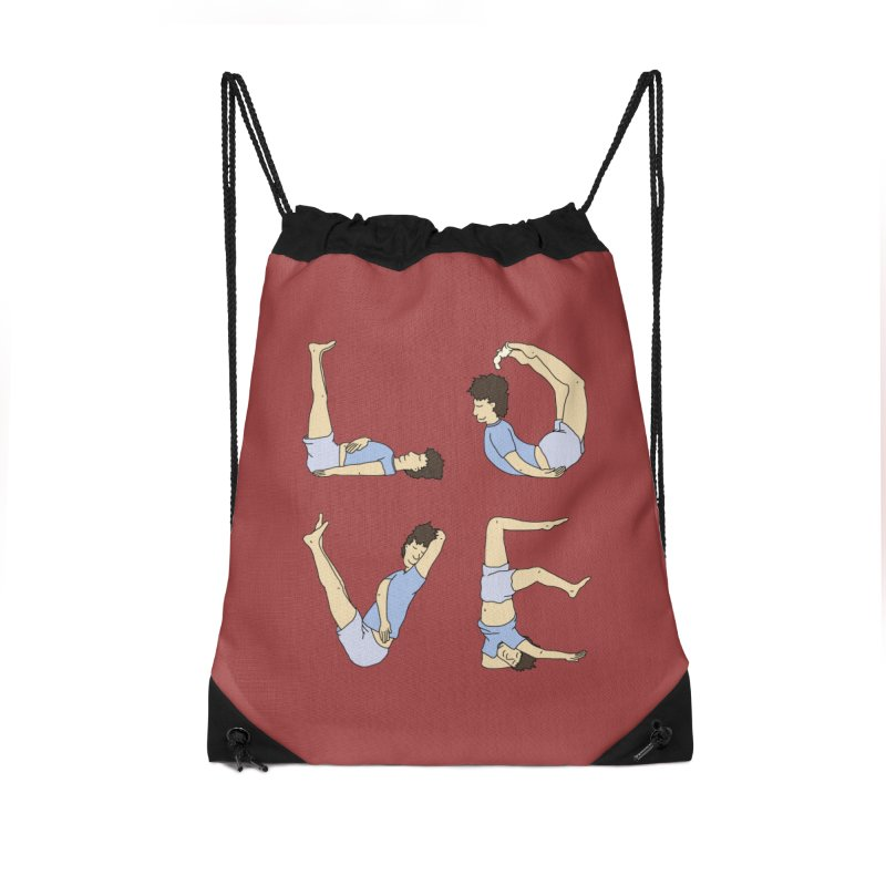 Love Lazing Around - Guy Accessories Bag by The Wandering Fools Artist Shop