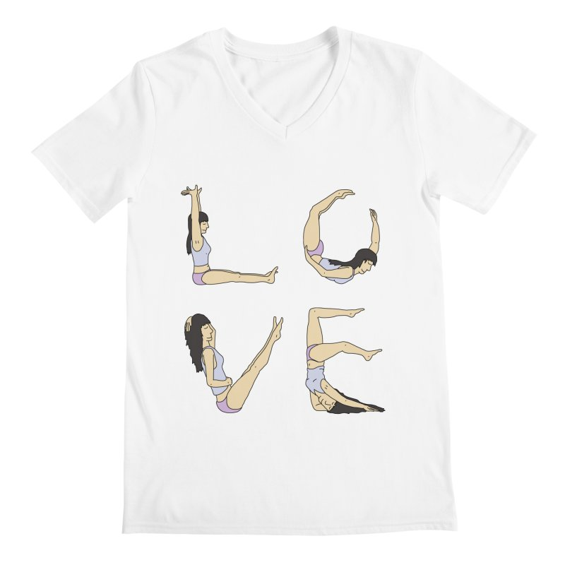 Love Lazing Around - Gal Men's V-Neck by The Wandering Fools Artist Shop