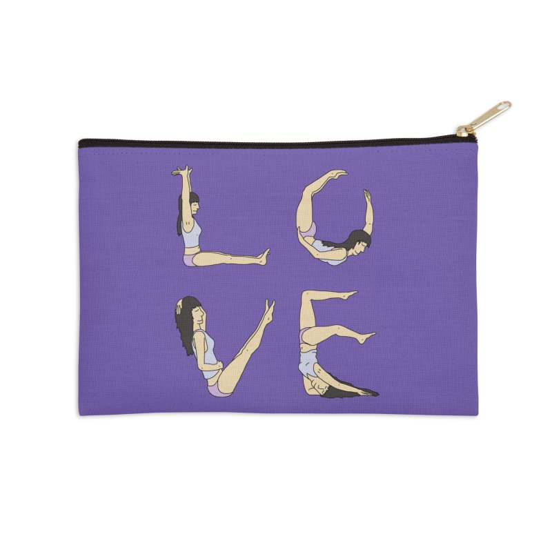 Love Lazing Around - Gal Accessories Zip Pouch by The Wandering Fools Artist Shop