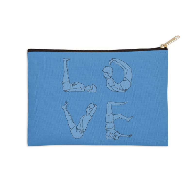 Love Lazing Around - Guy Accessories Zip Pouch by The Wandering Fools