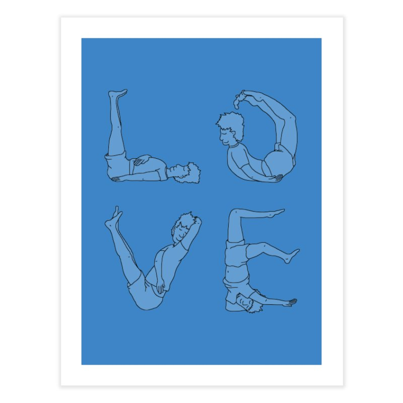 Love Lazing Around - Guy Home Fine Art Print by The Wandering Fools Artist Shop