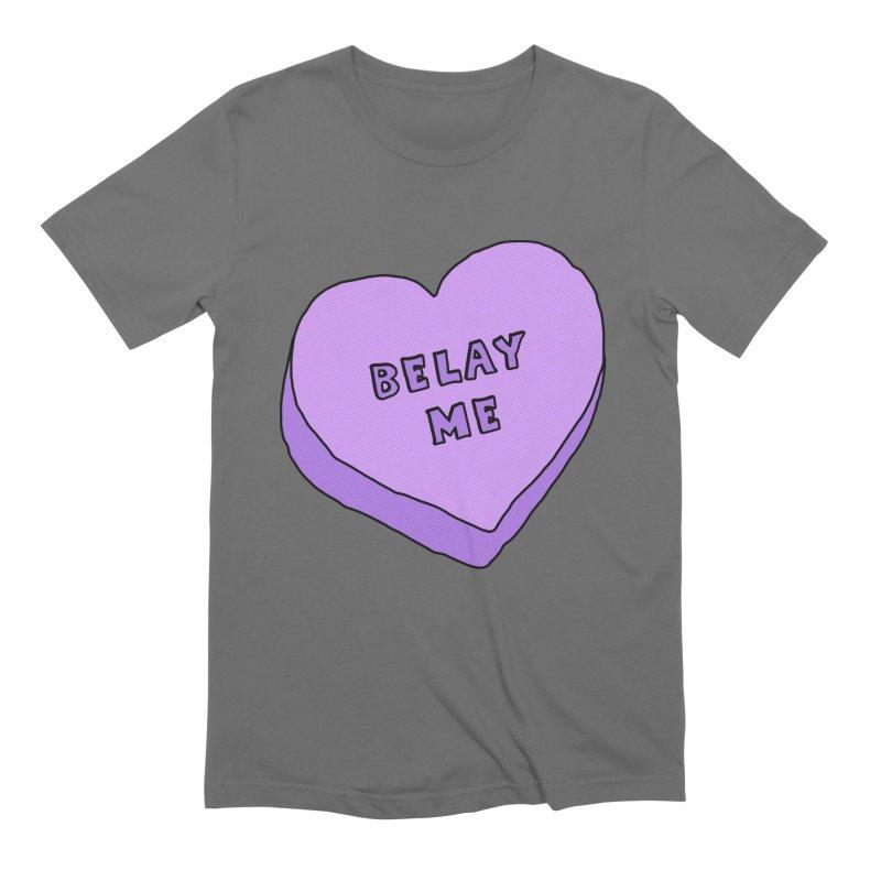 Belay Me Men's T-Shirt by The Wandering Fools Artist Shop