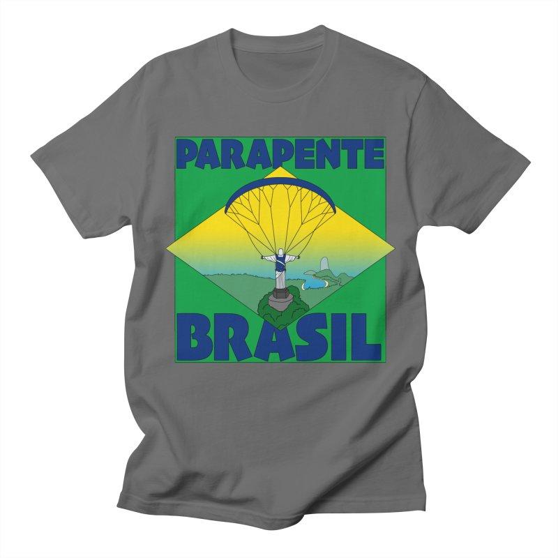 Parapente Brasil - Paraglide Brazil Women's Regular Unisex T-Shirt by The Wandering Fools