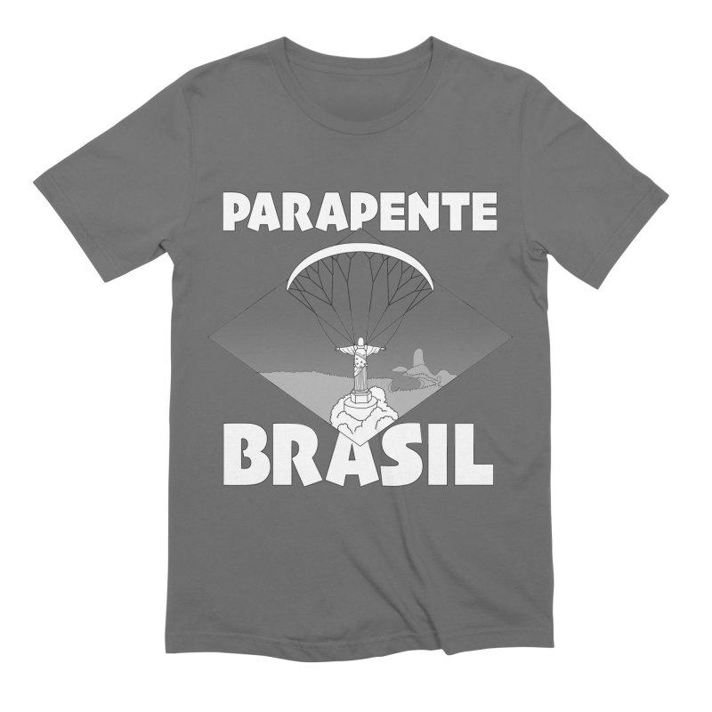 Parapente Brasil - Paraglide Brazil Men's T-Shirt by The Wandering Fools Artist Shop