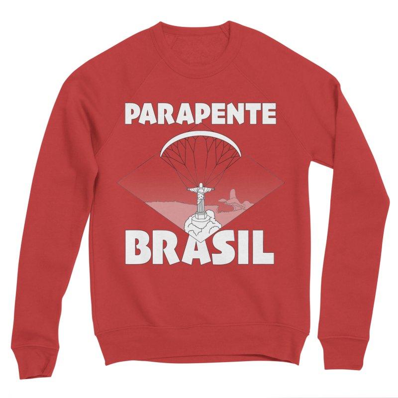 Parapente Brasil - Paraglide Brazil Women's Sponge Fleece Sweatshirt by The Wandering Fools