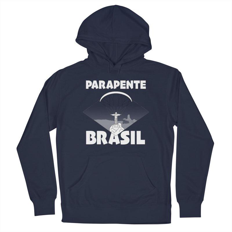 Parapente Brasil - Paraglide Brazil Men's Pullover Hoody by The Wandering Fools Artist Shop