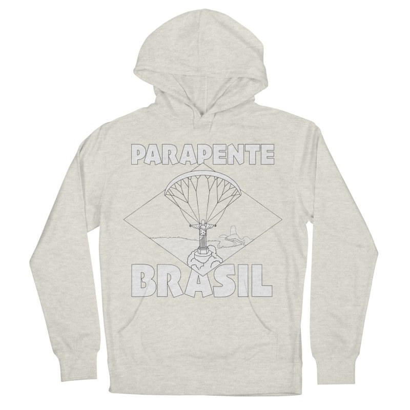 Parapente Brasil - Paraglide Brazil Men's French Terry Pullover Hoody by The Wandering Fools