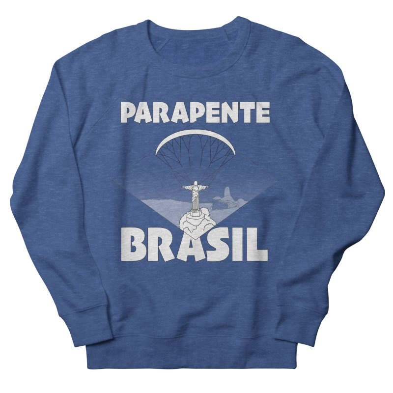 Parapente Brasil - Paraglide Brazil Men's Sweatshirt by The Wandering Fools Artist Shop