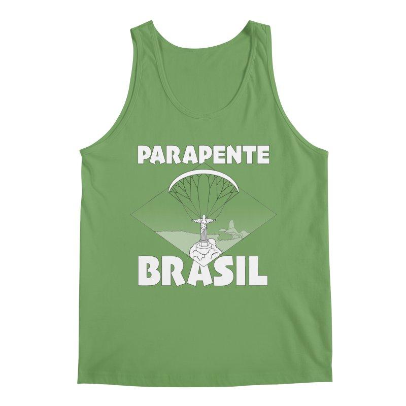 Parapente Brasil - Paraglide Brazil Men's Tank by The Wandering Fools Artist Shop