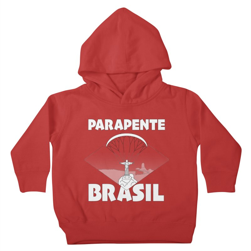 Parapente Brasil - Paraglide Brazil Kids Toddler Pullover Hoody by The Wandering Fools