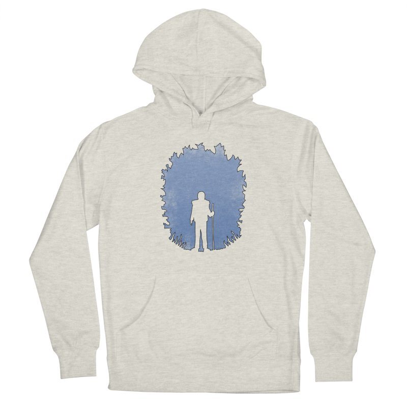 Practicing Social Distancing Men's Pullover Hoody by The Wandering Fools Artist Shop