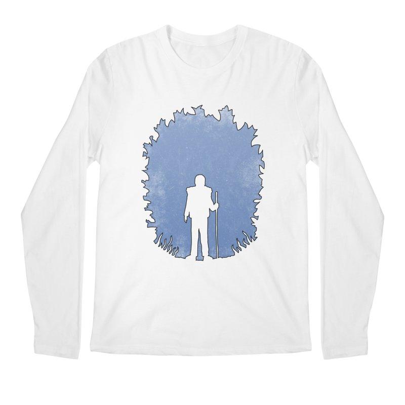 Practicing Social Distancing Men's Longsleeve T-Shirt by The Wandering Fools Artist Shop