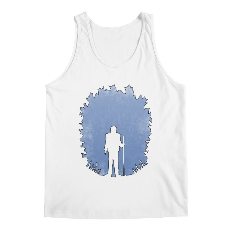 Practicing Social Distancing Men's Tank by The Wandering Fools Artist Shop