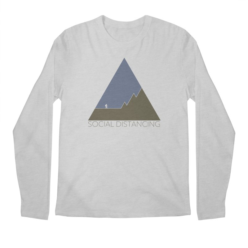 Social Distancing - In Nature Men's Longsleeve T-Shirt by The Wandering Fools Artist Shop