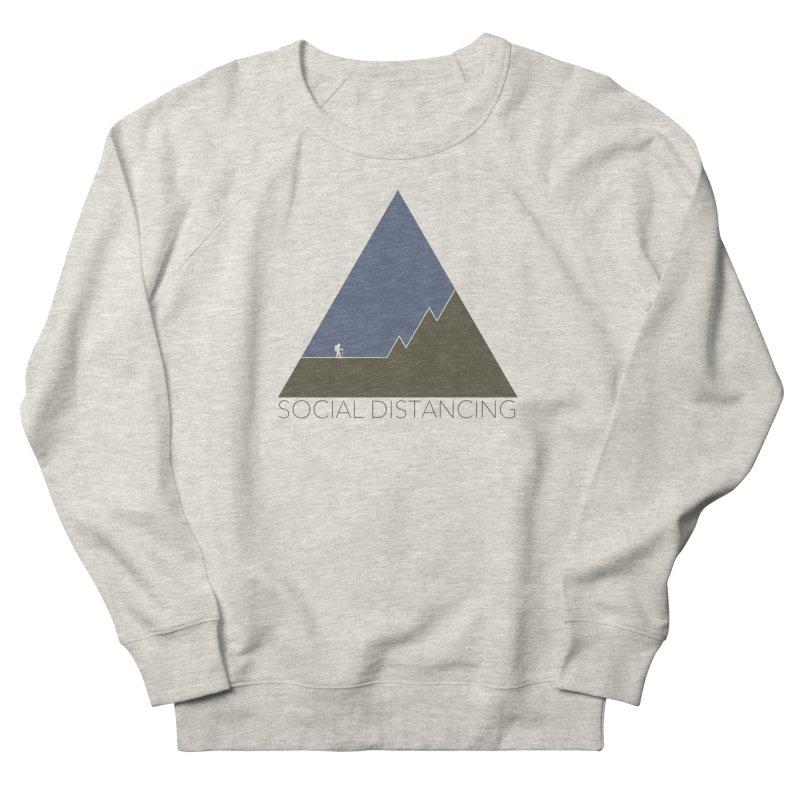 Social Distancing - In Nature Men's Sweatshirt by The Wandering Fools Artist Shop