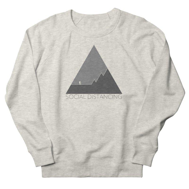 Social Distancing - In Nature - Grey Men's Sweatshirt by The Wandering Fools Artist Shop
