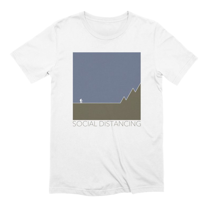 Social Distancing - In Nature Men's T-Shirt by The Wandering Fools Artist Shop
