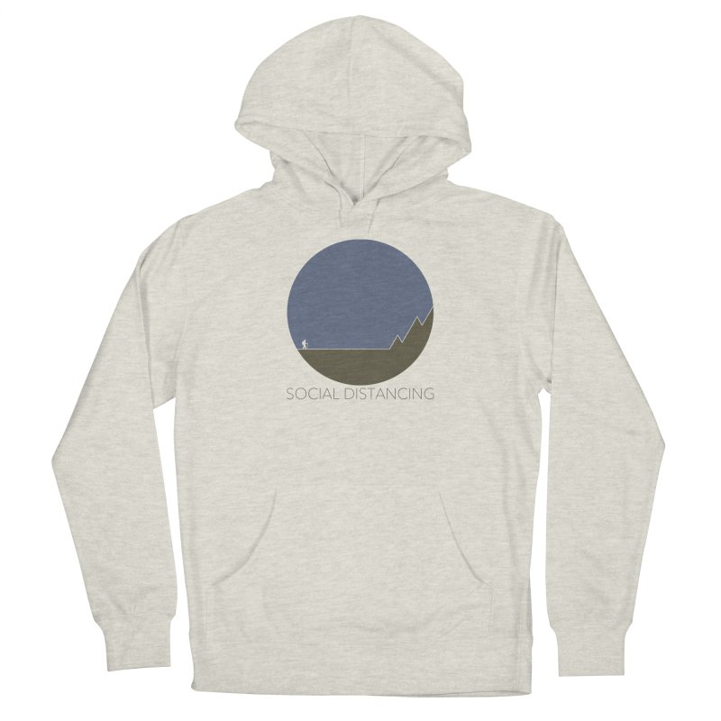 Social Distancing - In Nature Men's Pullover Hoody by The Wandering Fools Artist Shop