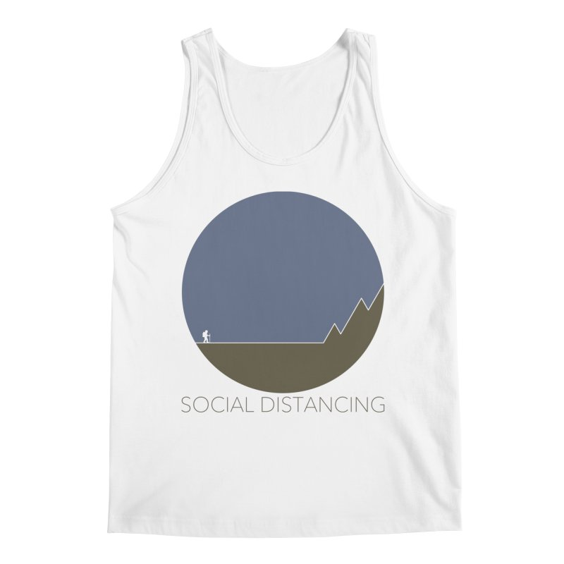 Social Distancing - In Nature Men's Tank by The Wandering Fools Artist Shop