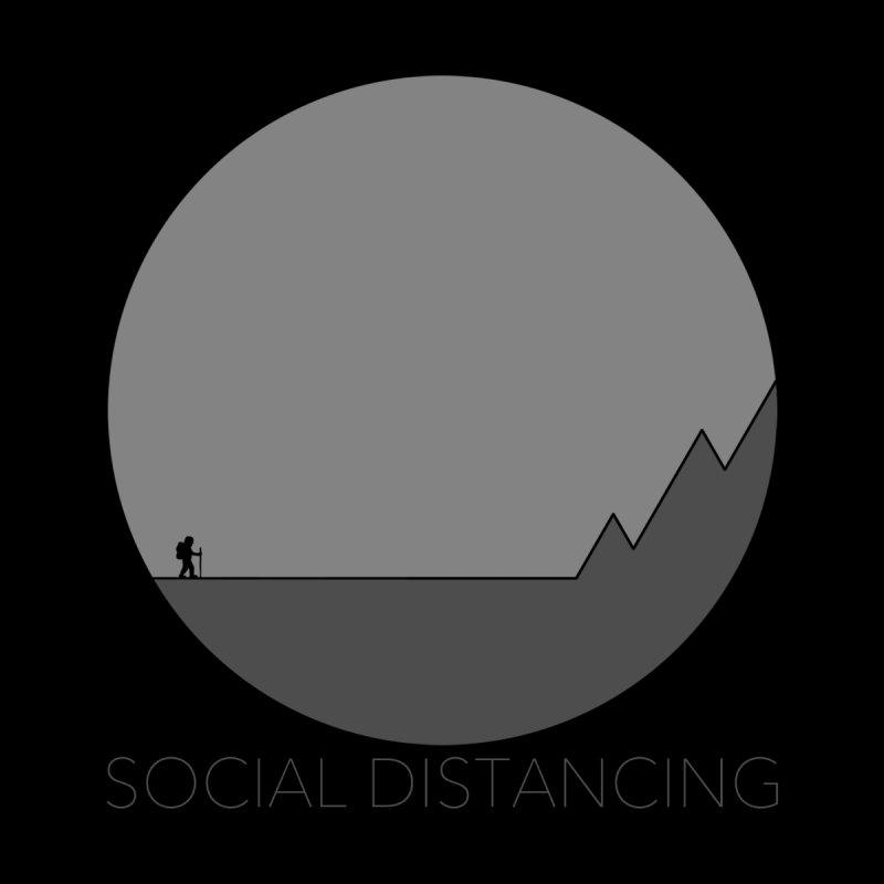 Social Distancing - In Nature - Grey Kids Baby Zip-Up Hoody by The Wandering Fools Artist Shop