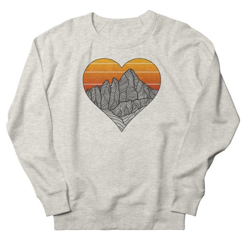 Mountain Sunset/Sky Men's Sweatshirt by The Wandering Fools Artist Shop