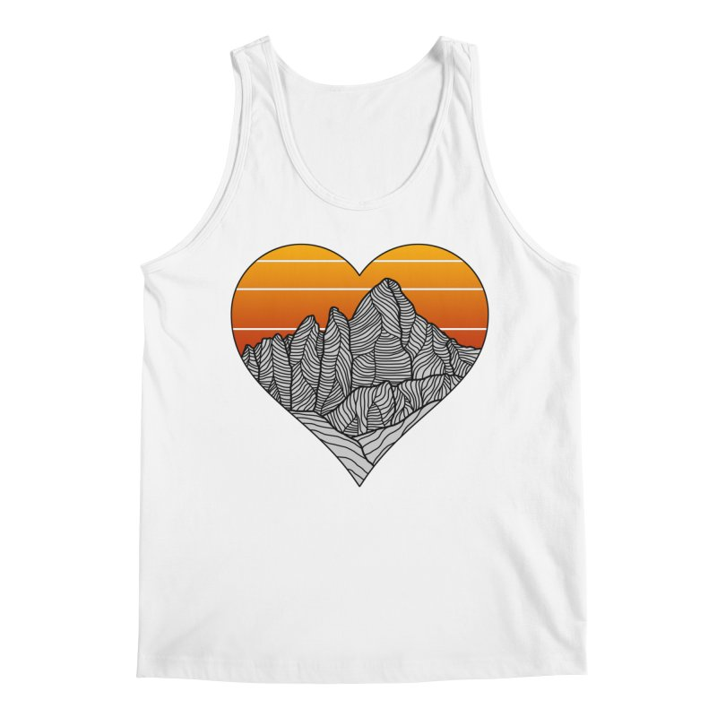 Mountain Sunset/Sky Men's Tank by The Wandering Fools Artist Shop