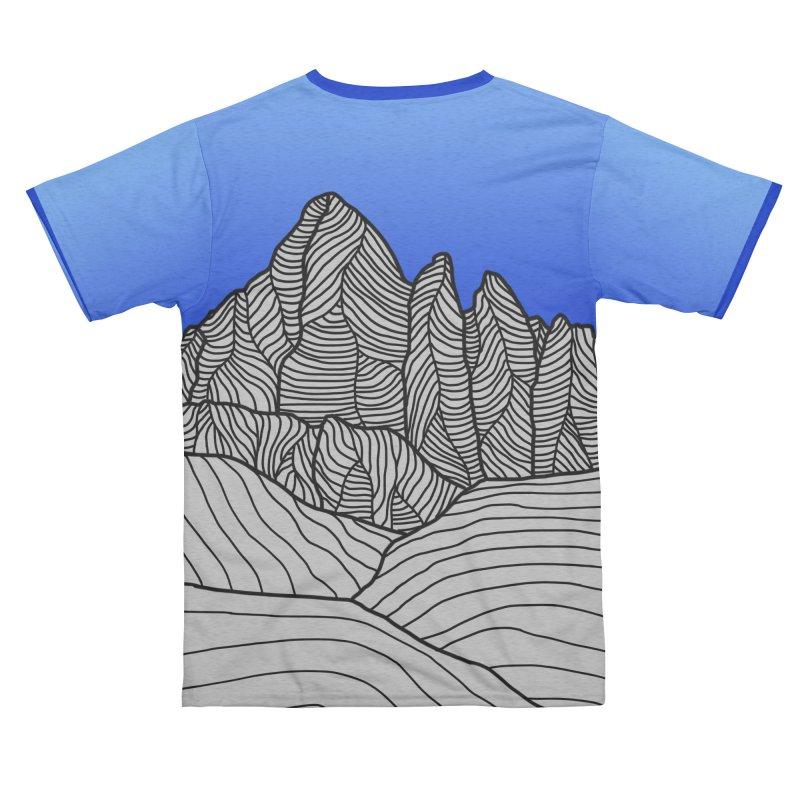 Mountain Sunset/Sky Women's Cut & Sew by The Wandering Fools Artist Shop