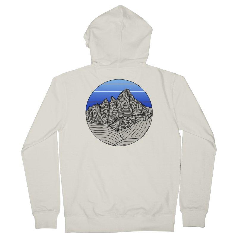 Mountain Sunset/Sky Women's Zip-Up Hoody by The Wandering Fools Artist Shop