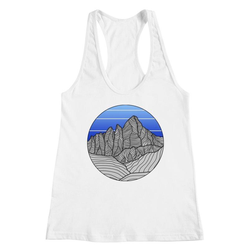 Mountain Sunset/Sky Women's Tank by The Wandering Fools Artist Shop