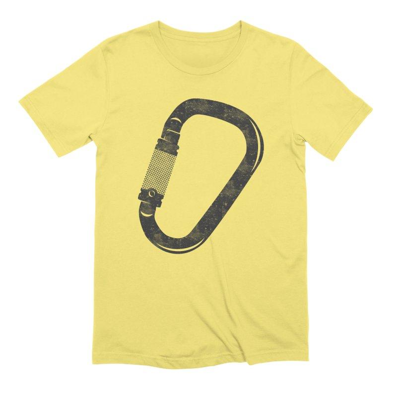 Carabiner Men's T-Shirt by The Wandering Fools Artist Shop