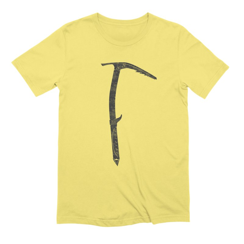 Ice Axe Men's T-Shirt by The Wandering Fools Artist Shop
