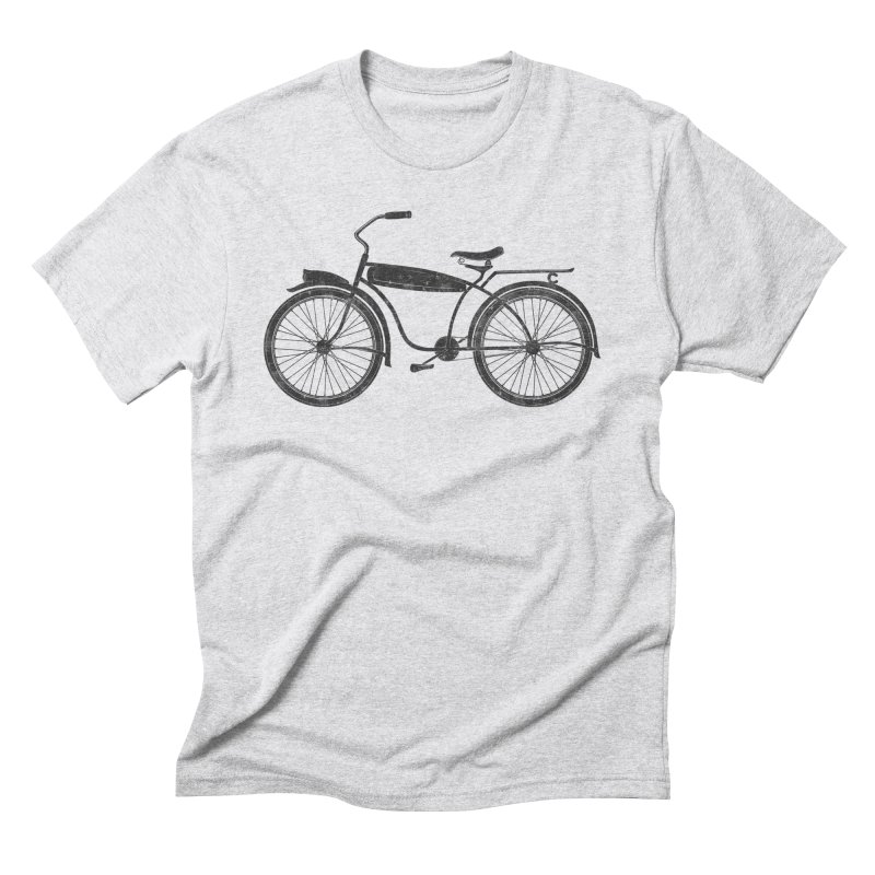 Vintage Bicycle Men's T-Shirt by The Wandering Fools Artist Shop