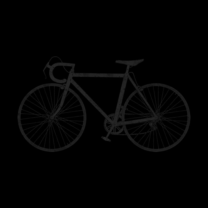 Road Bike Men's T-Shirt by The Wandering Fools Artist Shop