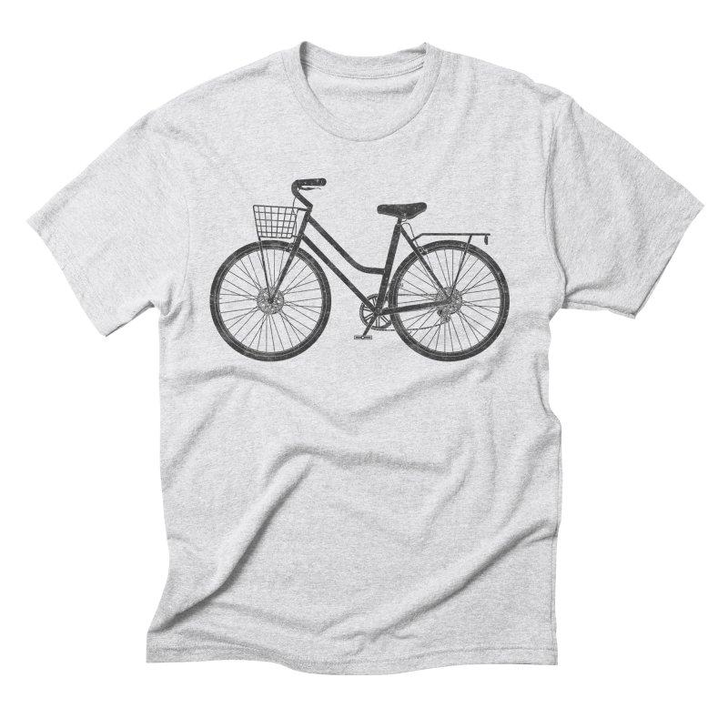 Beach Cruiser Bike Men's T-Shirt by The Wandering Fools Artist Shop