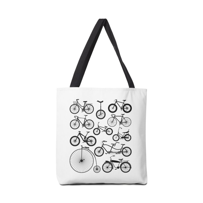 Bicycles Galore Accessories Bag by The Wandering Fools Artist Shop
