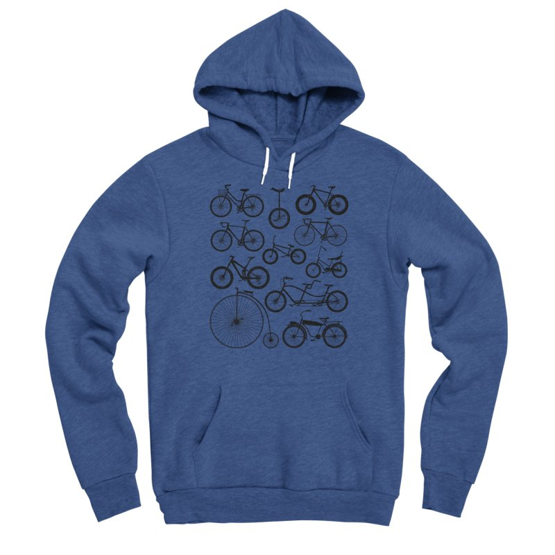 Bicycles Galore Men's Pullover Hoody by The Wandering Fools Artist Shop