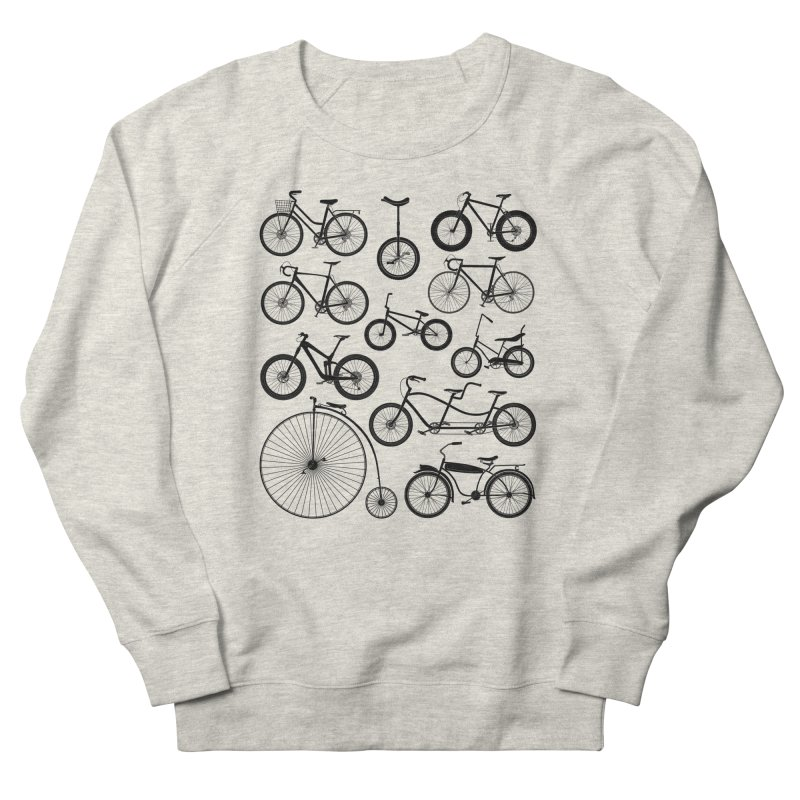 Bicycles Galore Men's Sweatshirt by The Wandering Fools Artist Shop
