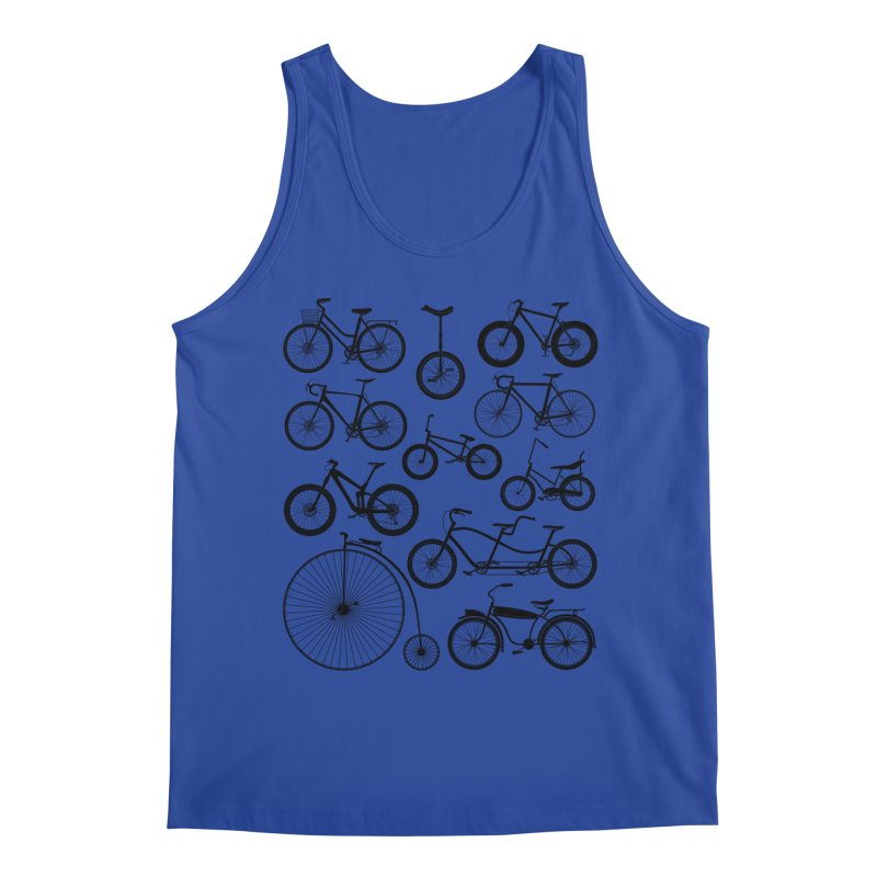 Bicycles Galore Men's Tank by The Wandering Fools Artist Shop