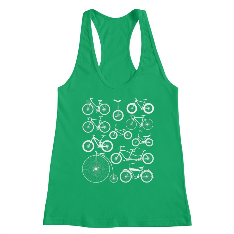 Bicycles Galore Women's Tank by The Wandering Fools Artist Shop