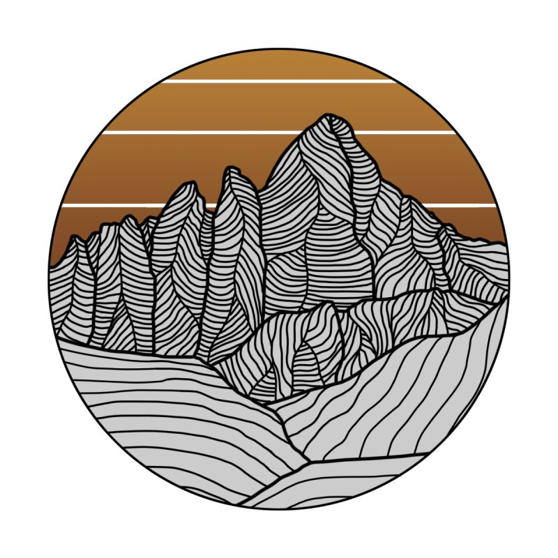 Mountain Sunset/Sky Fall Colors Women's Cut & Sew by The Wandering Fools Artist Shop