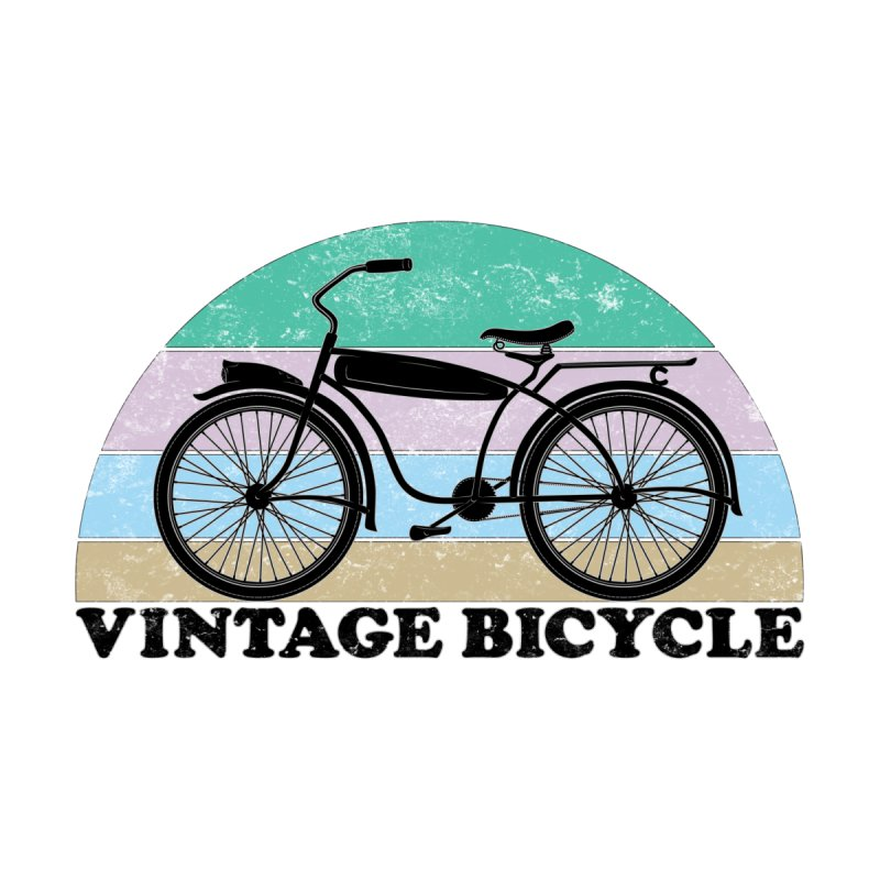 Vintage Bicycle Vintage Colors Men's T-Shirt by The Wandering Fools Artist Shop